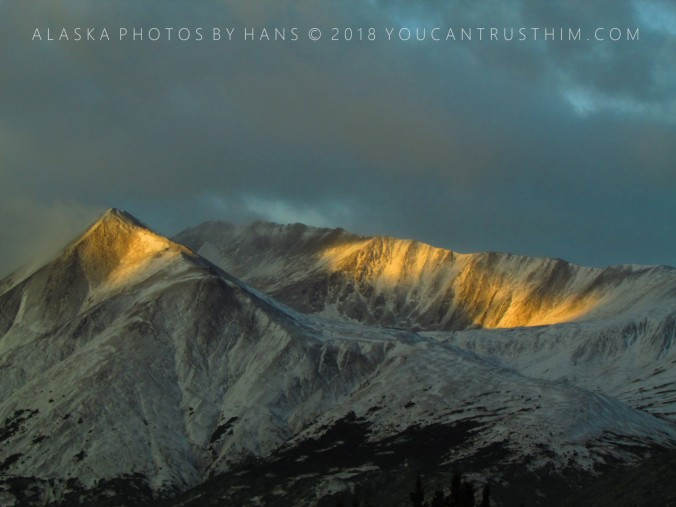 Light on the Summit-Alaska Range