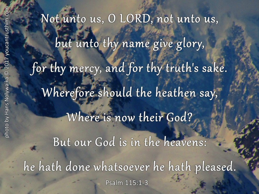 Trust God?!  Why ShouldI?