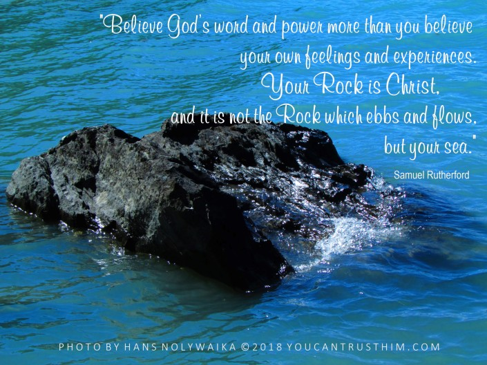 Your Rock is Christ - Samuel Rutherford