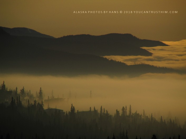 Early Morning Fog - Anchorage, Alaska