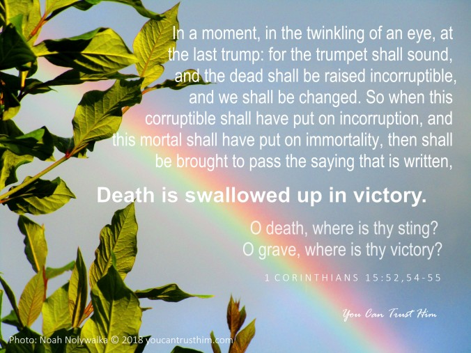 1 Corinthians 15:52,54-55