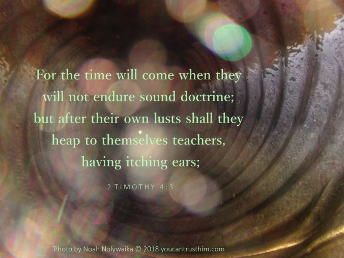 2 Timothy 4:3